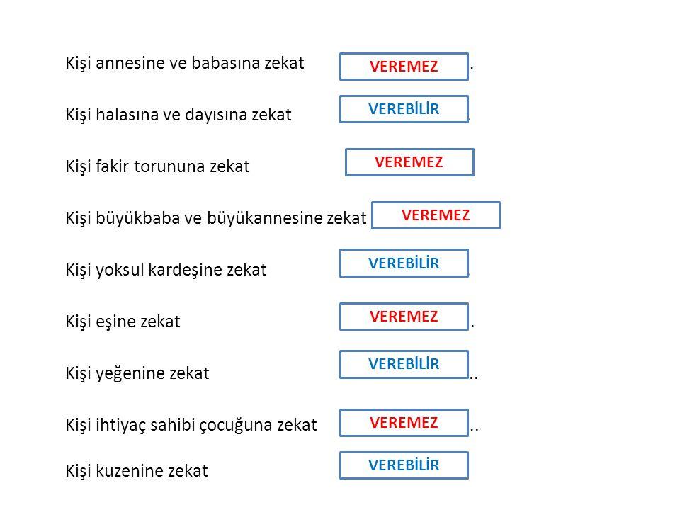 1.Aşağıdakilerden hangisi fitre için söylendiğinde yanlış olur.