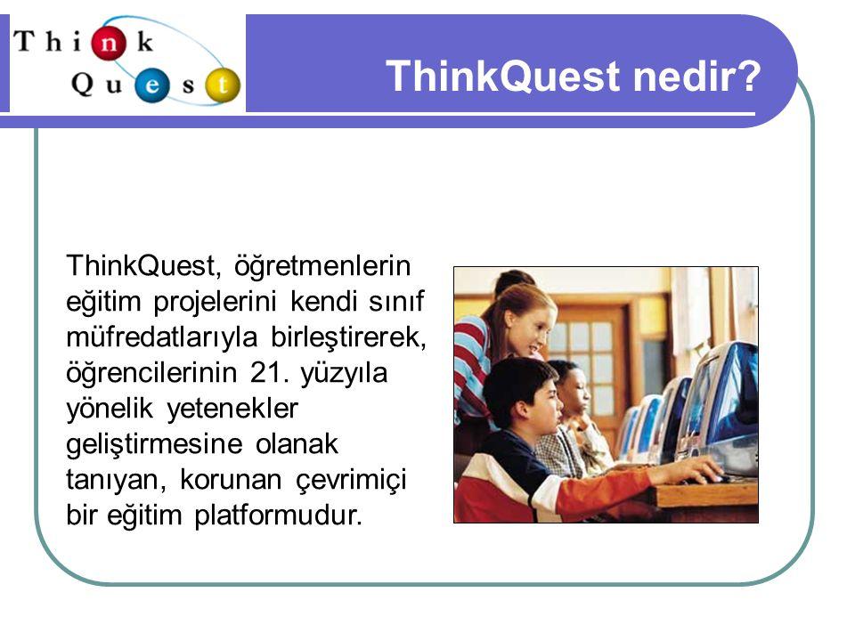ThinkQuest nedir.