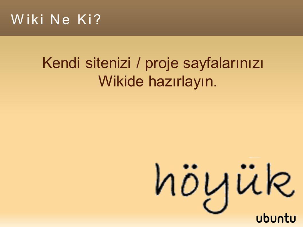 Wiki Ne Ki.