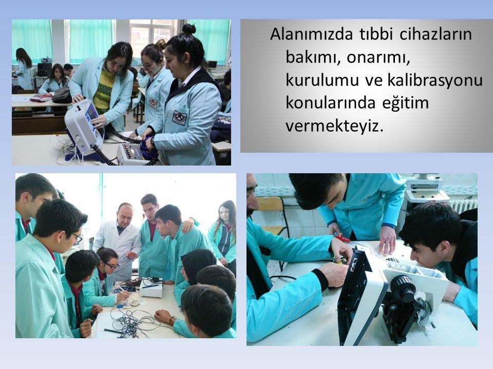 Alanımızda tıbbi cihazların bakımı, onarımı, kurulumu ve kalibrasyonu konularında eğitim vermekteyiz.