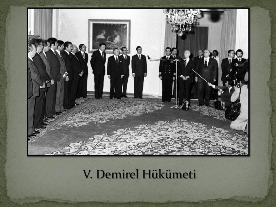 V. Demirel Hükümeti