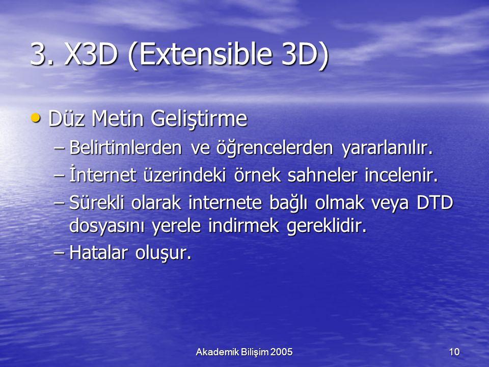 Akademik Bilişim 200510 3.