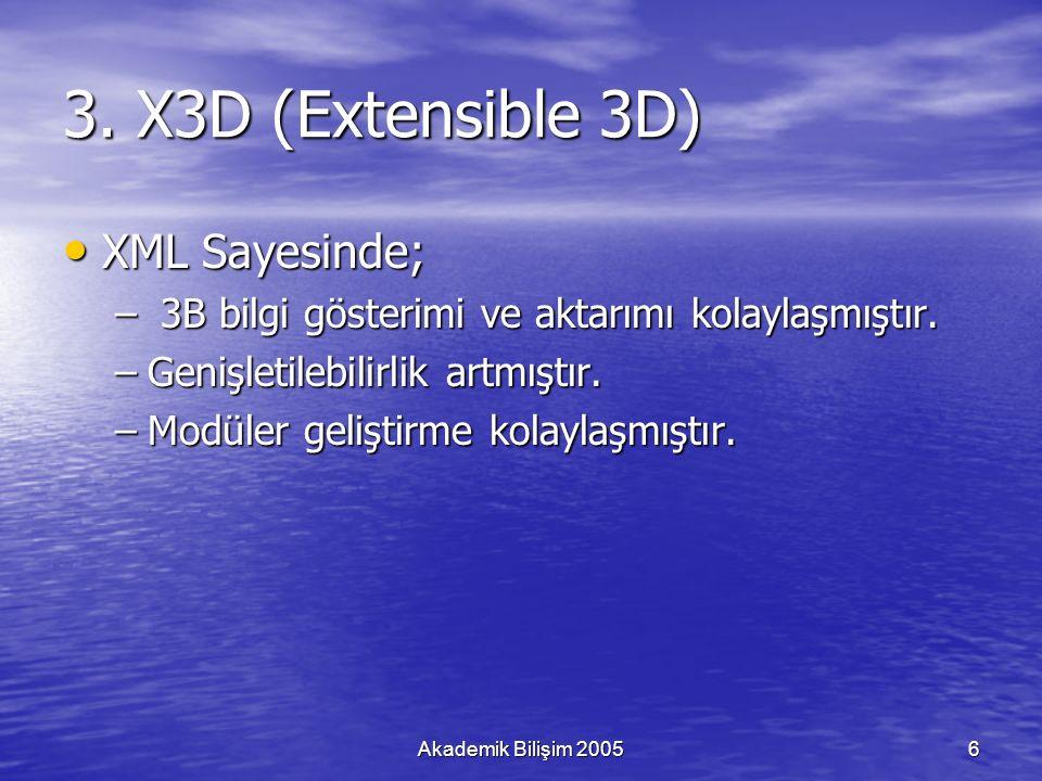Akademik Bilişim 20057 3.