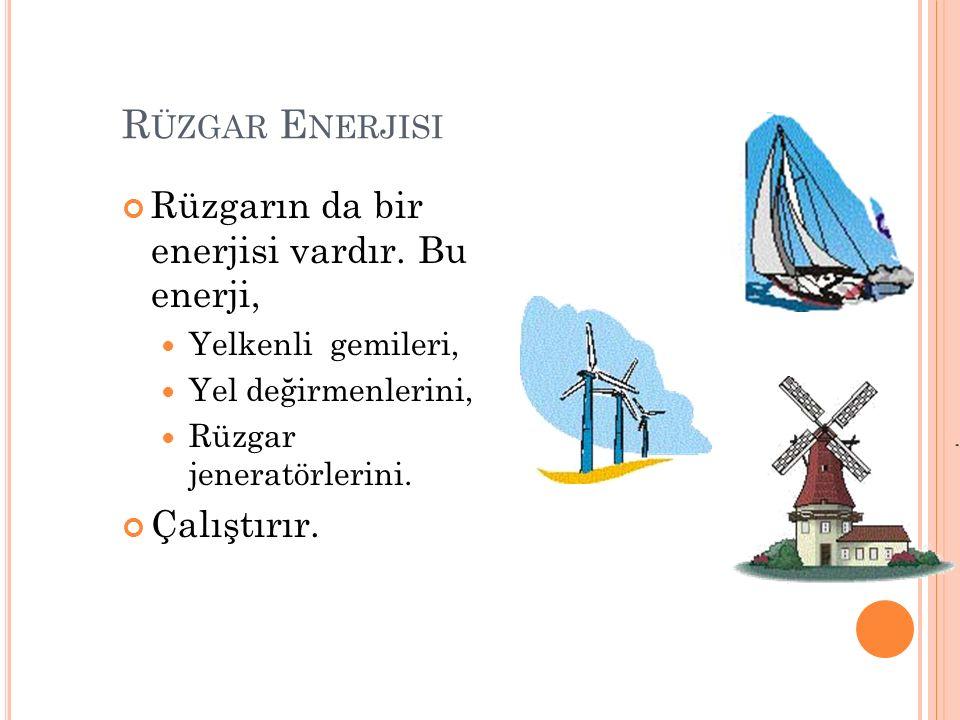 Ulaşımda, suyun kaldırma kuvvetinden yararlanılarak. Gemiler, Kayıklar, Yelkenliler vb. Suda yüzdürülmektedir. 23