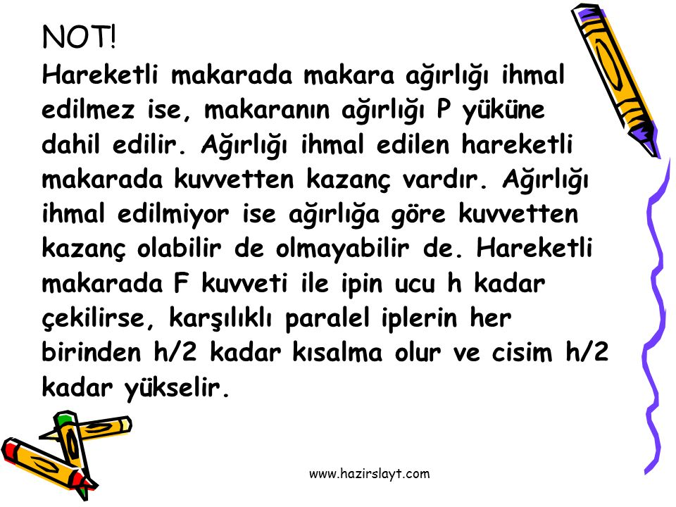 www.hazirslayt.com NOT.
