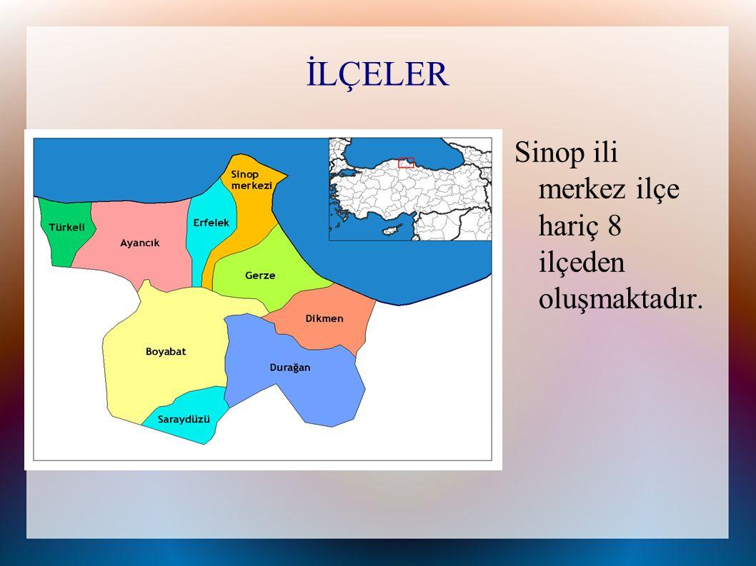 MERKEZ İLÇE Merkez ilçe en eski yerleşim yeridir fakat çok fazla gelişememiş ve yüksek nüfusa sahip olamamıştır.