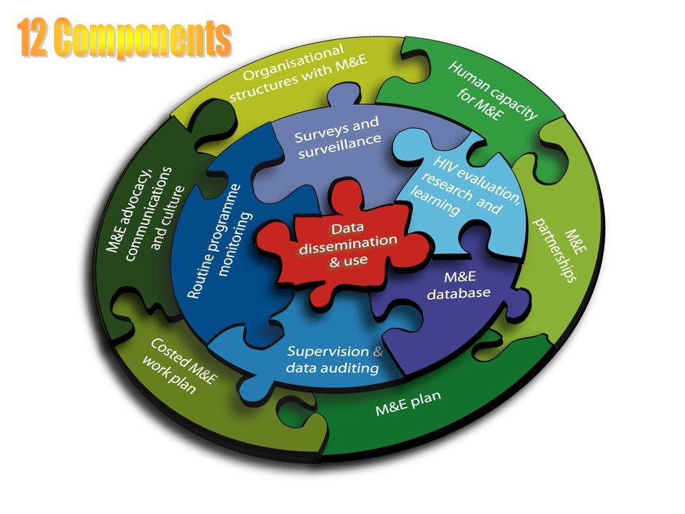 Fonksiyonel bir İ ve D Sisteminin 12 bileşeni 12 bileşen 3 türde gruplanabilir: – Çevreyi etkinleştirme İnsanlar, ortaklıklar ve planlama – Veri ve Bilgi Veri toplama, elinde tutma ve doğrulama – Karar verme mekanizmasında kullanım Kimin hangi kararları ne zaman aldığını anlayarak buna göre bir tasarım yapmak gerekir.