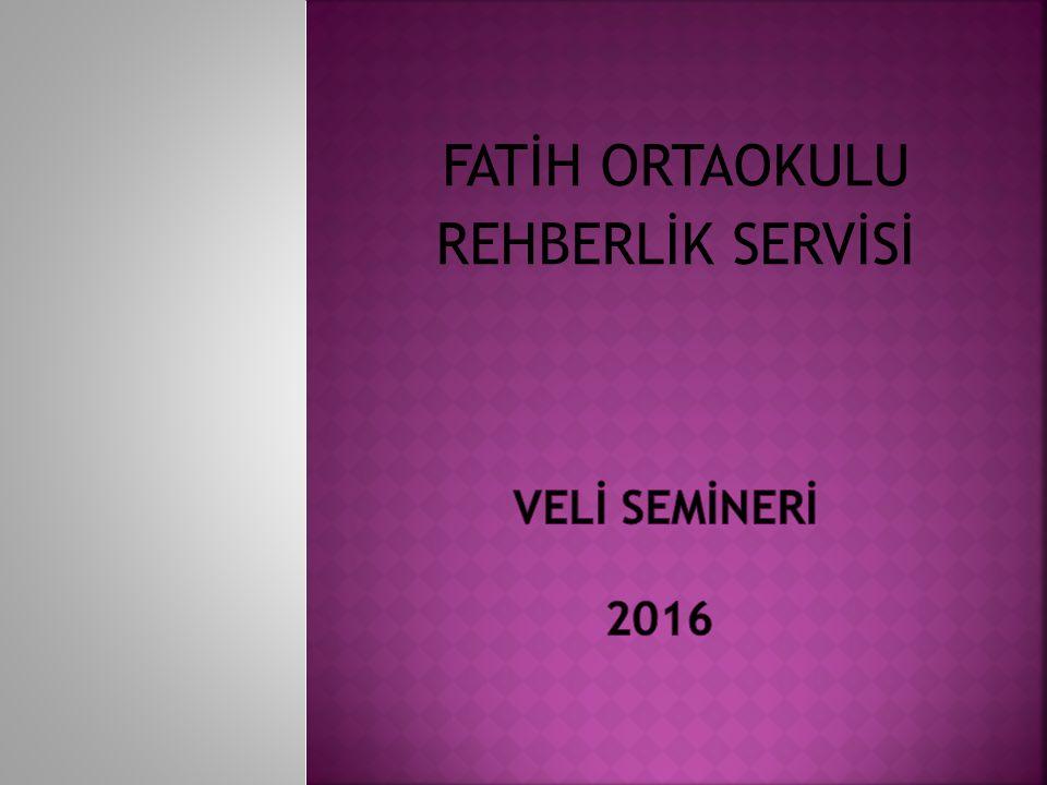 FATİH ORTAOKULU REHBERLİK SERVİSİ