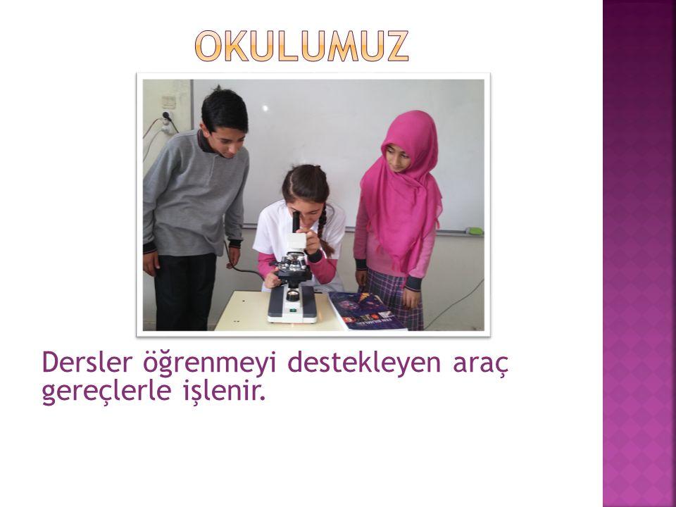 Okulumuzda, ortaokul derslerine ilave olarak  Kuran-ı Kerim  Hz.