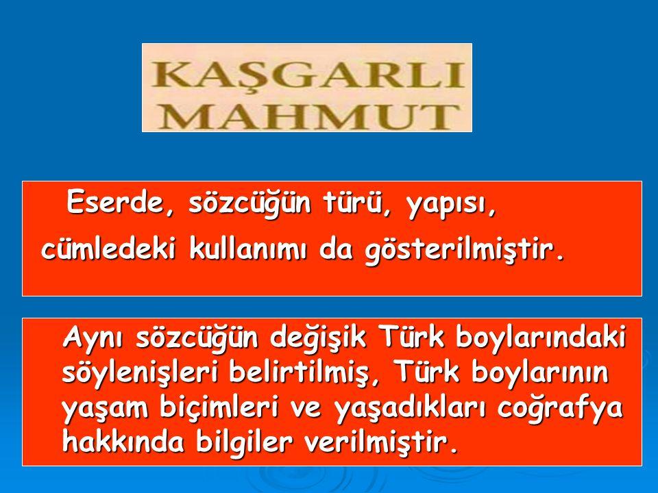 1072 – 1074 yılları arasında, Araplara 1072 – 1074 yılları arasında, Araplara Türkçeyi öğretmek için yazılmıştır. Arapça olarak yazılmış, 7500 Türkçe