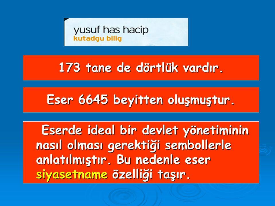Eser, Karahanlı hükümdarı Tabgaç Buğra Han'a sunulmuştur. Eser, Karahanlı hükümdarı Tabgaç Buğra Han'a sunulmuştur. Türk edebiyatında aruz ölçüsüyle y