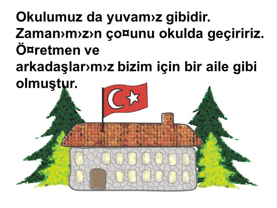 Ülkemizin üç tarafı denizlerle kaplıdır. Bunlar: Karadeniz, Ege Denizi, Marmara Denizi, Akdeniz