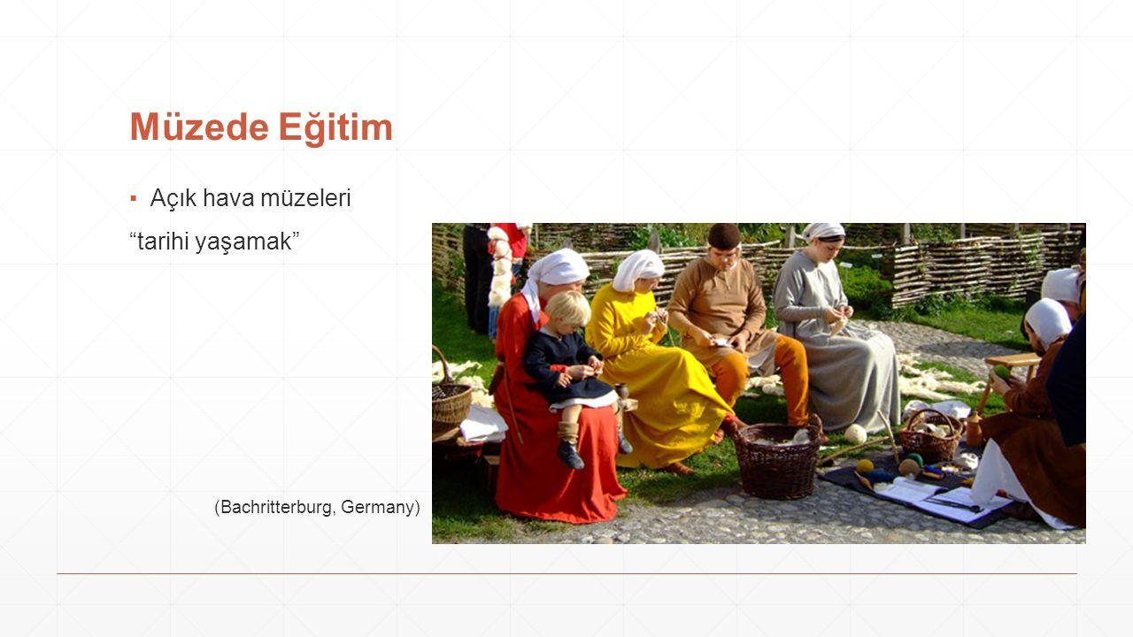 """Müzede Eğitim ▪Açık hava müzeleri """"tarihi yaşamak"""" (Bachritterburg, Germany)"""