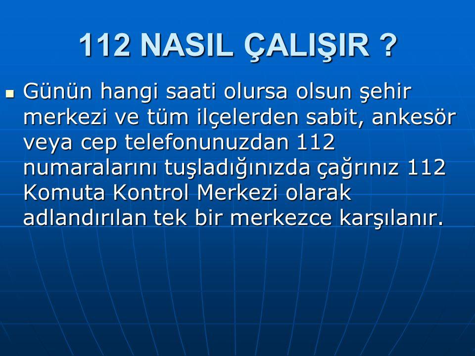 112 ARADIĞIMDA OPERATÖRLE NASIL KONUŞACAĞIM .