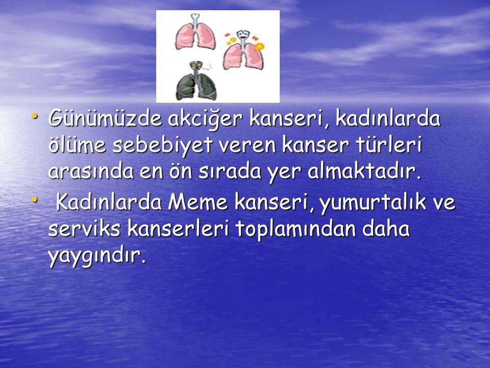Akciğer kanseri Hücrelerin görüntüsüne göre iki ana guruba ayrılır.