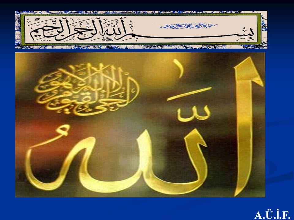 ETKİNLİK I:Kuran'da adı geçen peygamberlerin isimlerinin yazılı olduğu bir asetat yansıtılır ETKİNLİK I:Kuran'da adı geçen peygamberlerin isimlerinin yazılı olduğu bir asetat yansıtılır