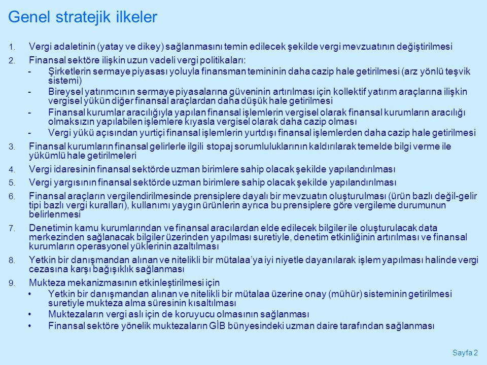 Sayfa 2 Genel stratejik ilkeler 1.