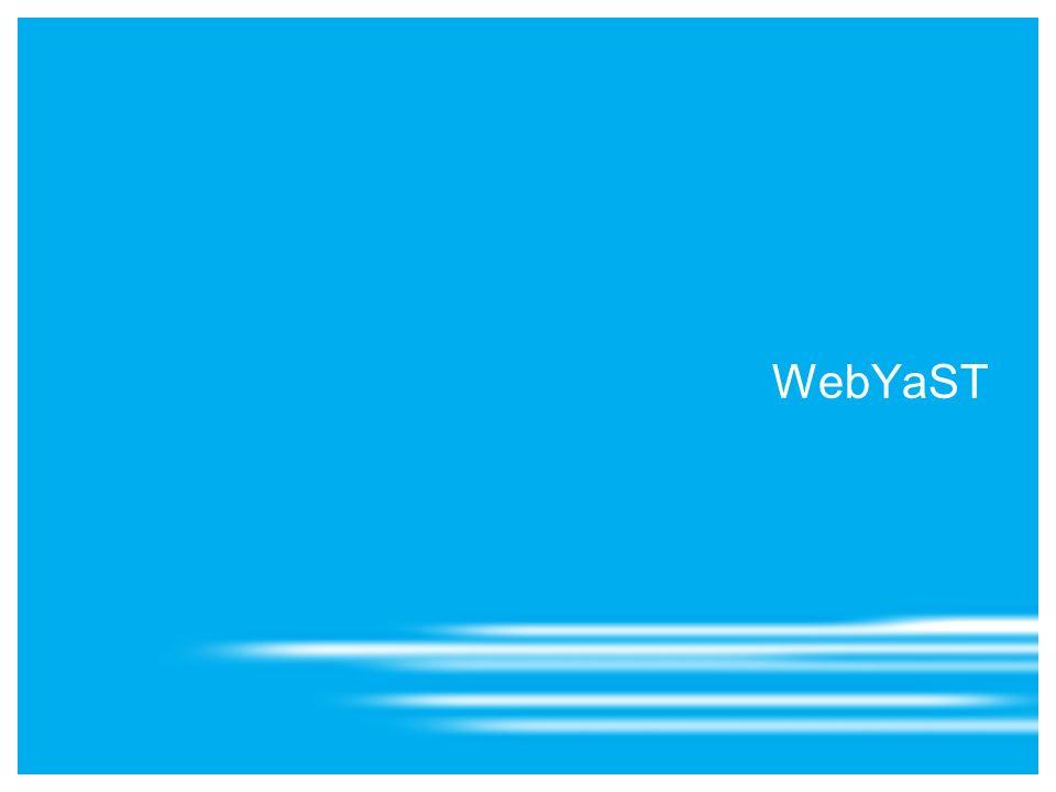 WebYaST