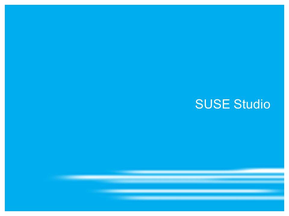 7 SuSE Studio