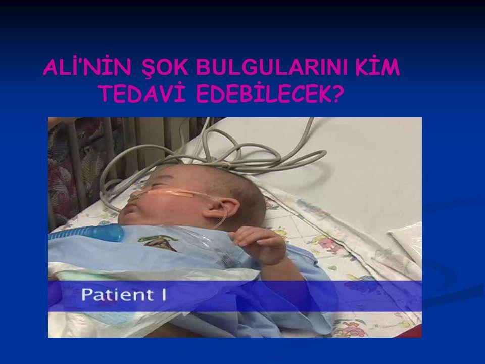 Olgu Ali Dönmez 14 aylık erkek hasta Üç gün önce başlayan kusma ve iki gündür günde 10-15 kez olan ishali olması nedeniyle çocuk acil polikliniğine getirildi