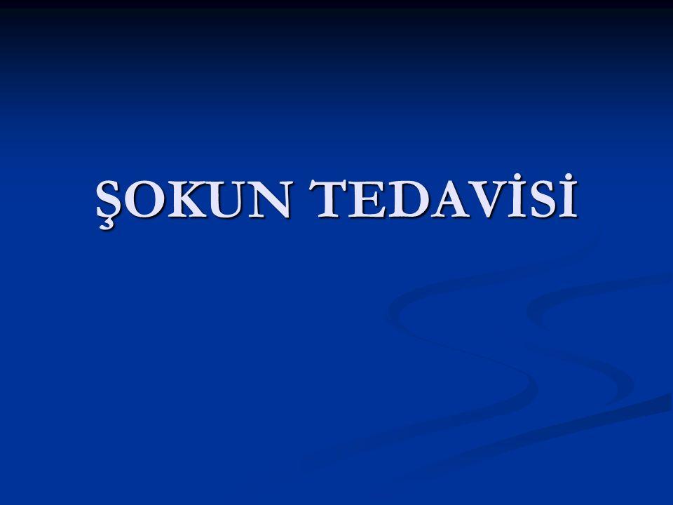 ŞOKUN TEDAVİSİ