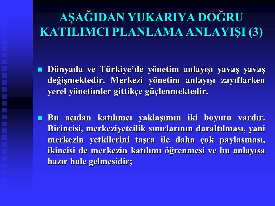 Dünyada ve Türkiye'de yönetim anlayışı yavaş yavaş değişmektedir. Merkezi yönetim anlayışı zayıflarken yerel yönetimler gittikçe güçlenmektedir. Dünya