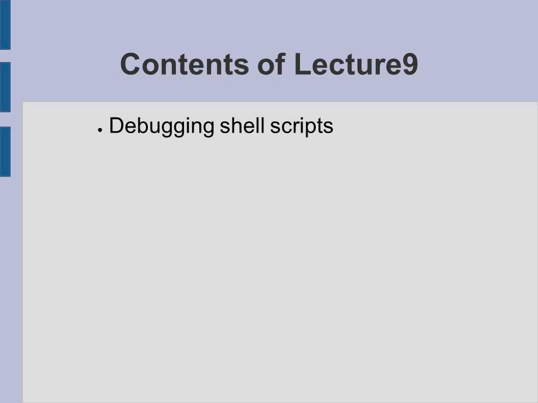 Why to cover the debugging subject .