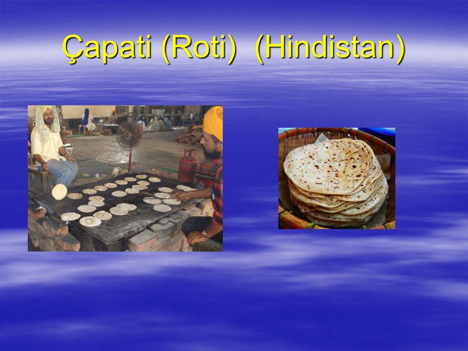 Çapati (Roti) (Hindistan)