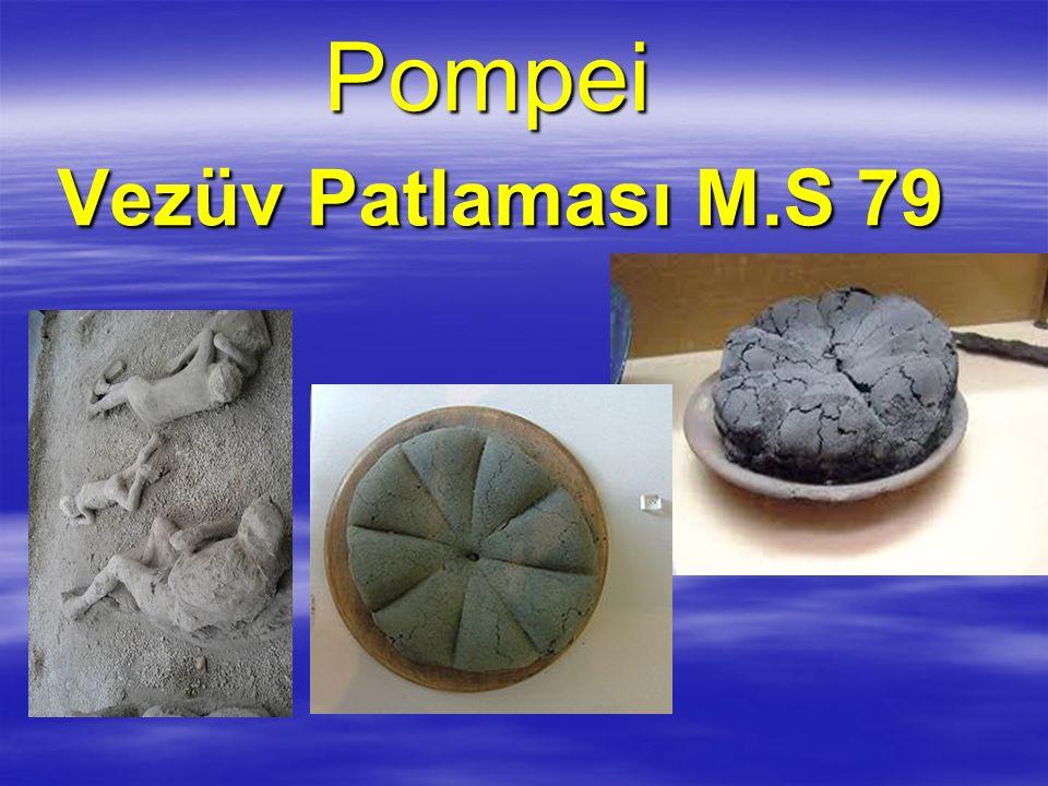 Pompei Vezüv Patlaması M.S 79