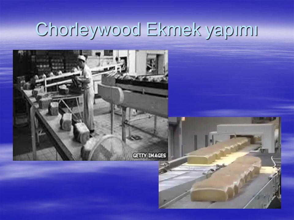 Chorleywood Ekmek yapımı