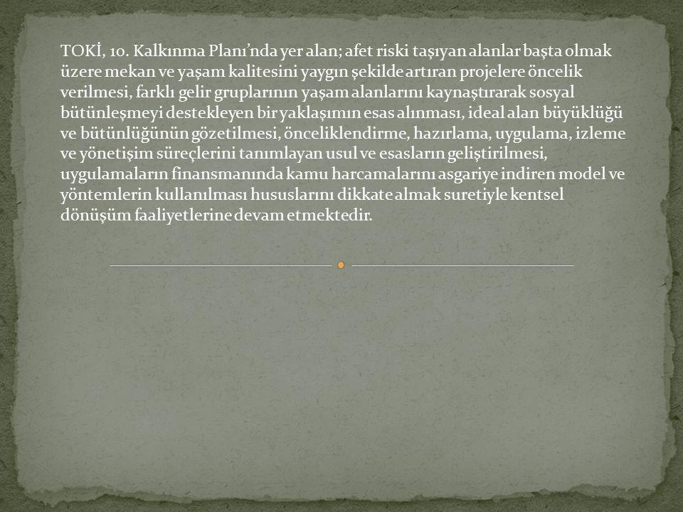 TOKİ, 10.