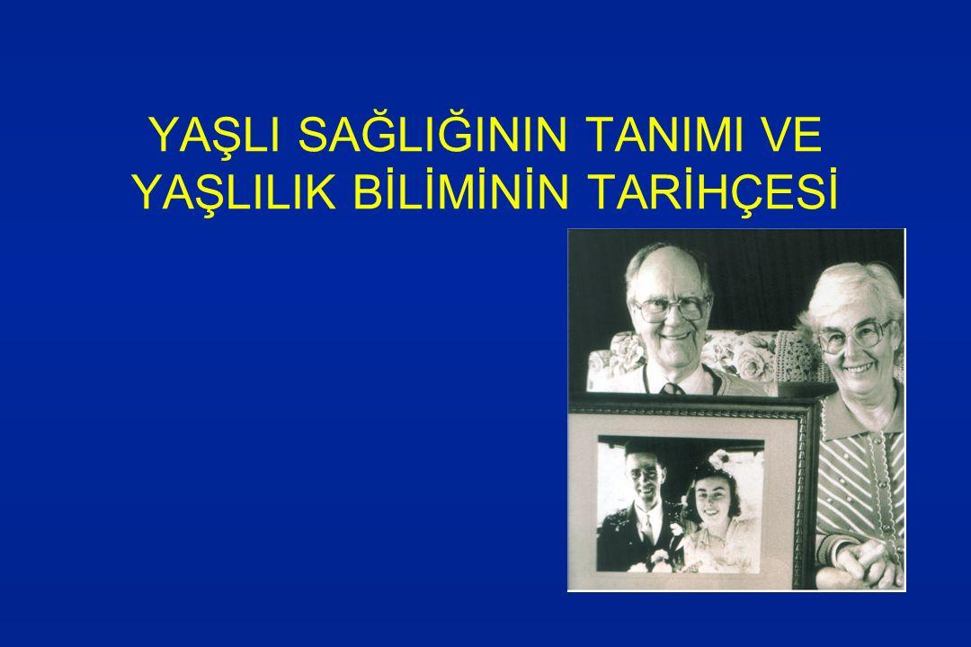 **Türkiye'de yaşlıların demografik özellikleri-3 l Yerleşim yeri –Kırsal bölgede yerleşim oranı daha yüksek.