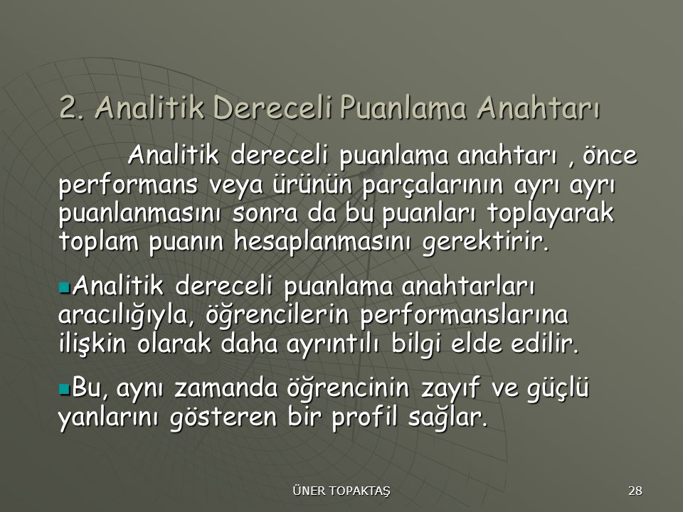 ÜNER TOPAKTAŞ 28 2.