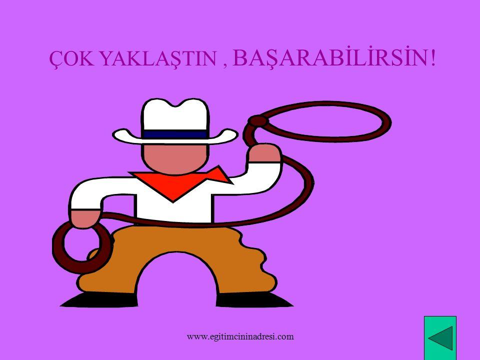BİRAZ DAHA DÜŞÜNMEK İSTERMİSİN. www.egitimcininadresi.com