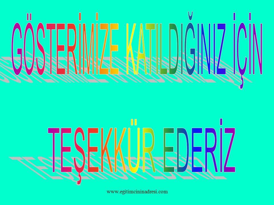 ÇOK YAKLAŞTIN, BAŞARABİLİRSİN! www.egitimcininadresi.com