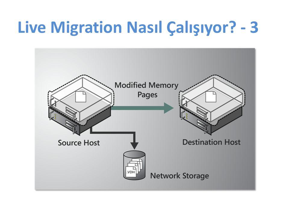 Live Migration Nasıl Çalışıyor? - 3