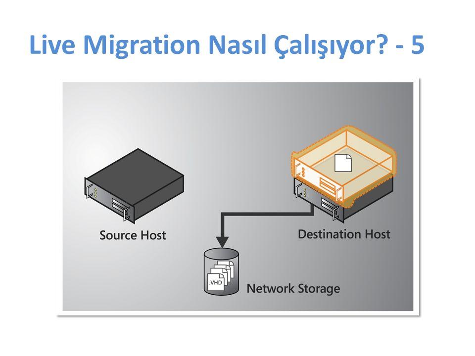 Live Migration Nasıl Çalışıyor - 5