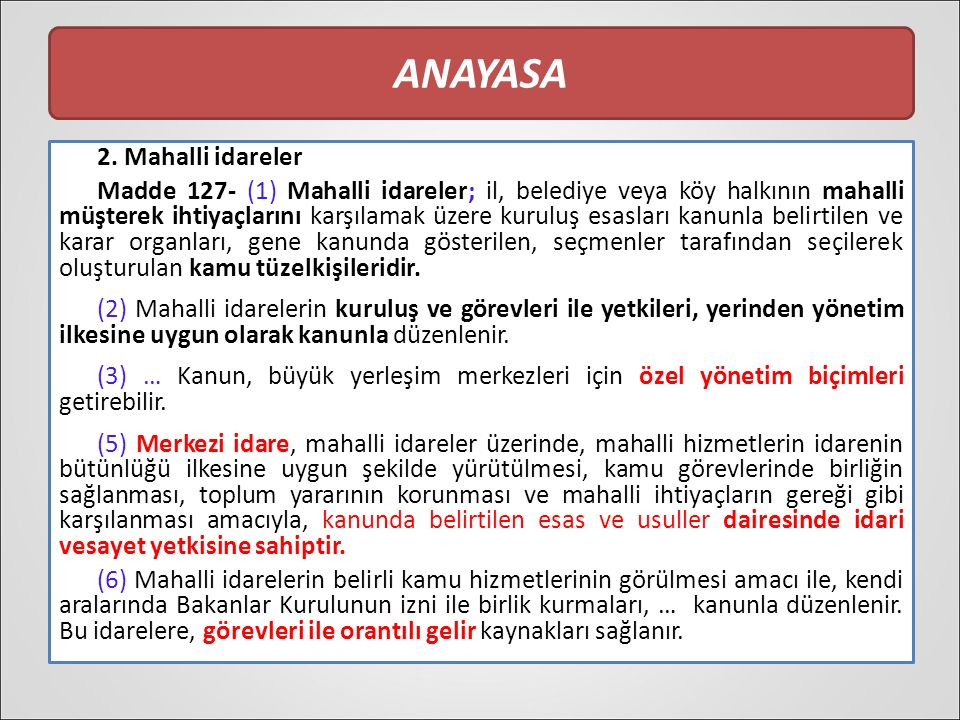 ANAYASA 2.