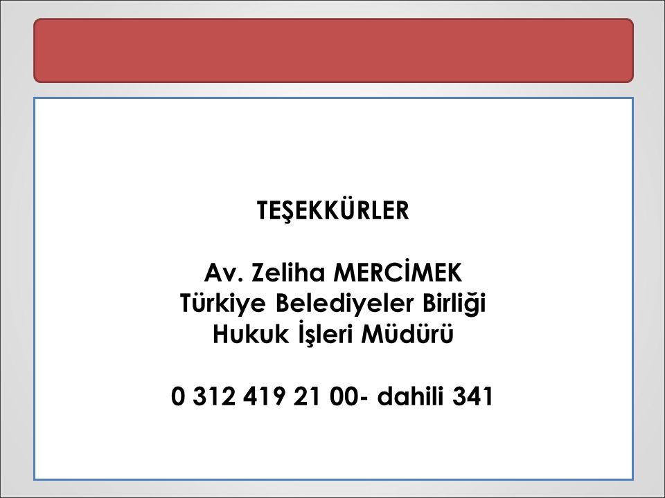 TEŞEKKÜRLER Av.