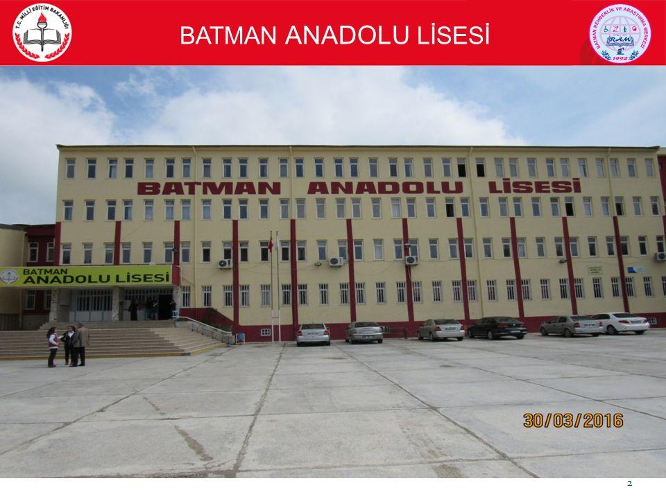 BATMAN ANADOLU LİSESİ 13 FUTBOL SAHASI