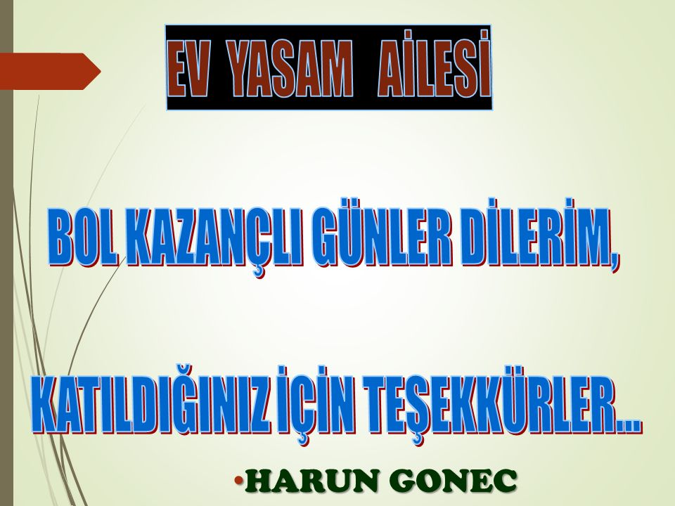 HARUN GONEC HARUN GONEC