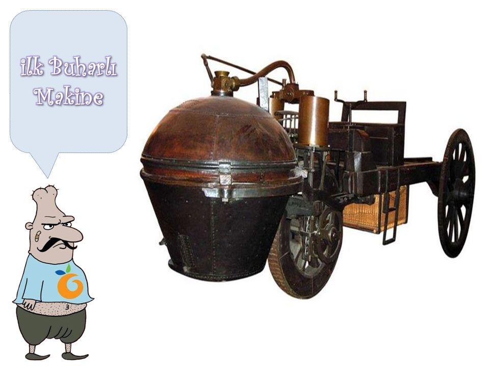 John Kay dokuma işlemini makineleştirdi 1733 James Watt buhar motorunu icat etti 1765 Richard Arkwright suyla çalışan ilk iplik eğirme makinesini icat etti 1771 Buhar makinesi ilk defa Avrupa'da kullanıldı 1781 İlk demir tekneli gemi suya indirildi 1790 Raylar üzerinde ilerleyen ilk buharlı lokomotif yapıldı 1804 İngiltere'de ilk buharlı tren yolu hizmete girdi 1825 İlk modern maden eritme ocağı faaliyete geçti 1828 Krupp tarafından Bassemer çelik yöntemi geliştirildi 1855 Benz, benzinle çalışan ilk arabayı icat etti 1885