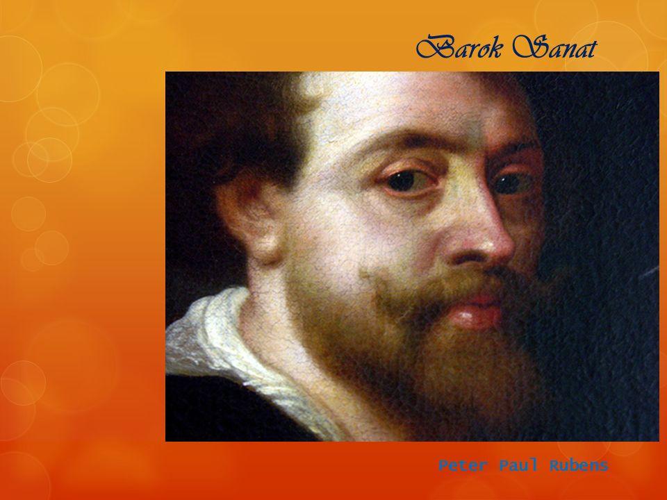 Peter Paul Rubens Barok Sanat