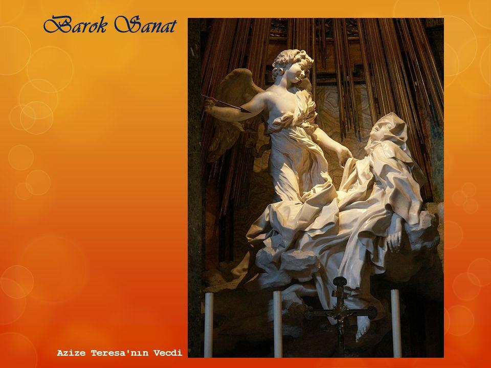 Barok Sanat Azize Teresa'nın Vecdi