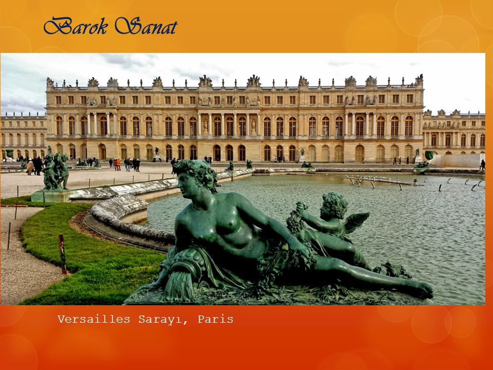 Barok Sanat Versailles Sarayı, Paris