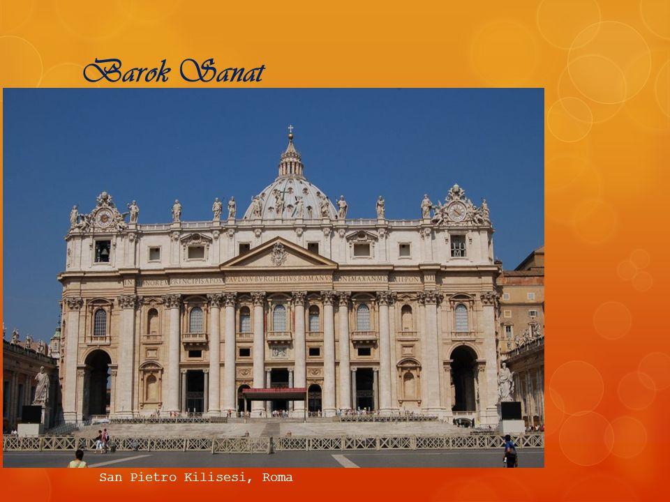 Barok Sanat San Pietro Kilisesi, Roma