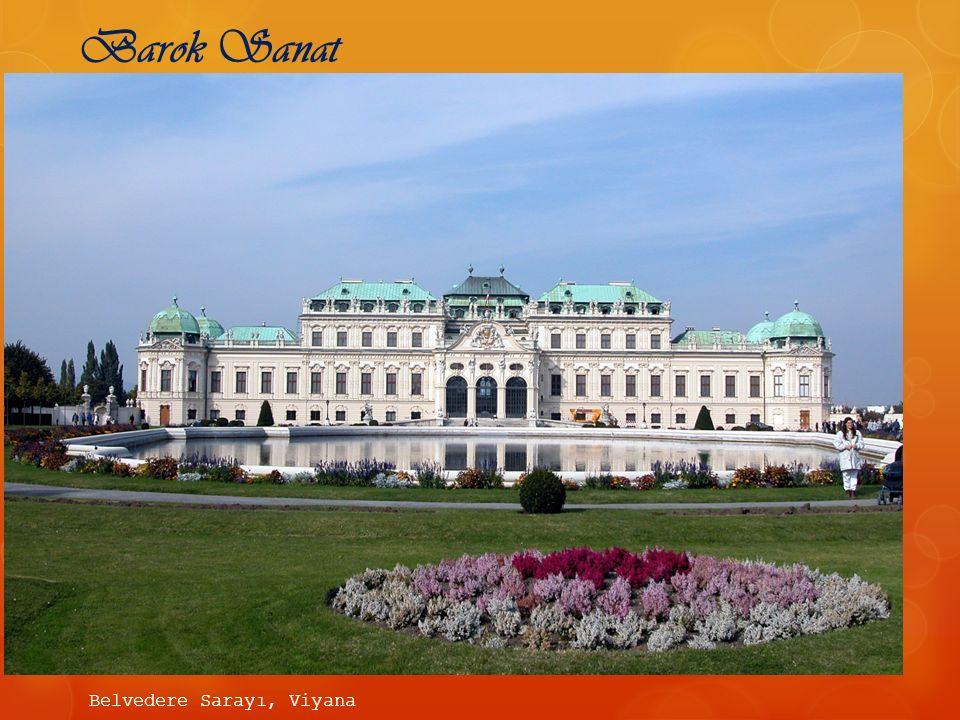 Belvedere Sarayı, Viyana Barok Sanat