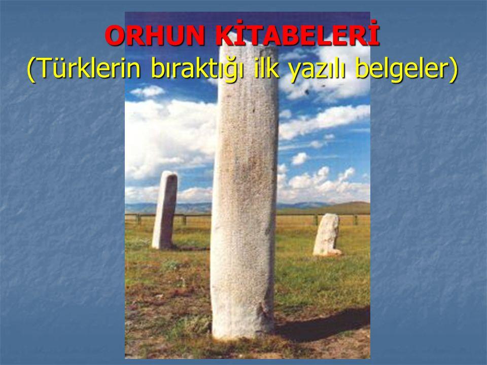 www.sunuindir.com ORHUN KİTABELERİ (Türklerin bıraktığı ilk yazılı belgeler)