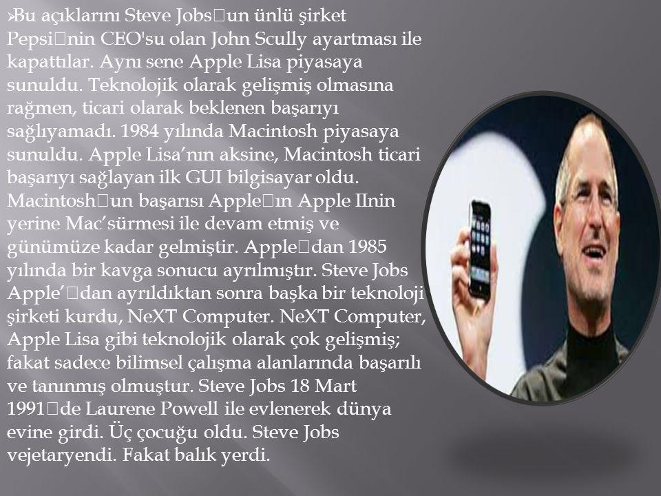  Stepe Jobs; 24 Şubat 1955 yılında Amerika'nın Wisconsin eyaletinde dünyaya geldi.