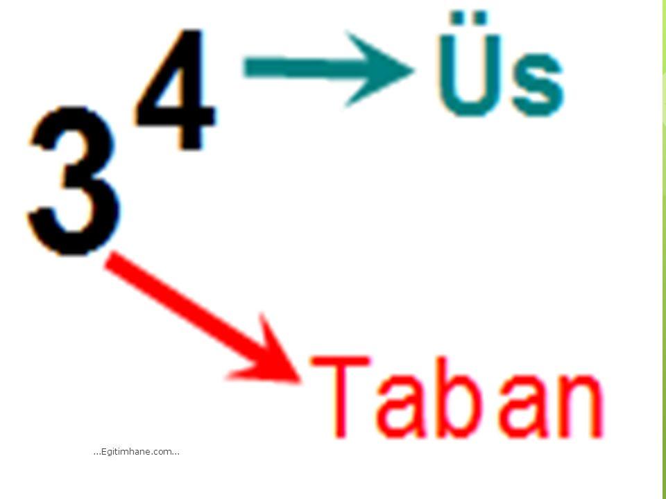 7 x 7 x 7 x 7 x 7 x 7 işleminin üslü sayı olarak yazılışı aşağıdakilerden hangisidir.